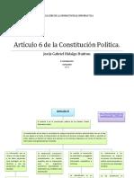 Artículo 6 de La Constitución Política