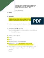 Estructura Del Proyecto Pedagogico de Aula Ppa
