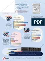 Handle more read-intensive data analytics work with an HPE ProLiant DL385 Gen10 server equipped with value SAS and NVMe mainstream SSDs from KIOXIA - Infographic