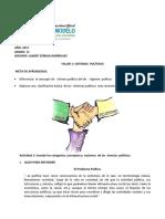 taller  1 SISTEMAS  Y REGIMENES POLÍTICOS TALLER 1 (1).pdf