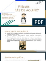 Tomás de Aquino presentación