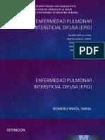Enfermedad Pulmonar Intersticial Difusa (Epid)
