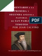 Comentario Biblico Juan Calvino
