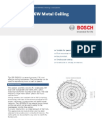 Bosch Lbd0606!10!6w Metal Ceiling Loudspeaker