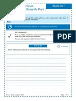 Mindfulness Worksheet Module 2 1