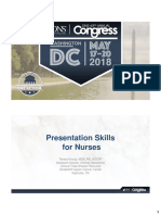 Presentation Skills for Nurses