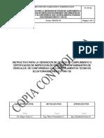 VC in 61 Instructivo Para Inspeccion de Vehículos