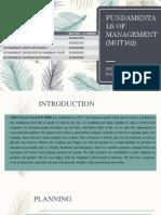 Fundamentals of Management (Mgt162)