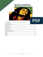 Biography of Bob Marley Leo