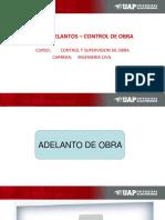 ADELANTO E INICIO DE OBRA.ppt