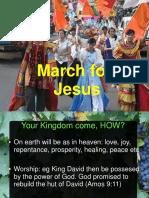 Prayer March for Jesus