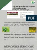 Articulo Postcosecha de La Papaya