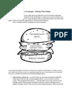 Body Paragraph Basics_Cheat Sheet