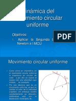 Dinamica Del Movimiento Circular Uniforme