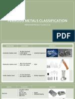 Ferrous Metals Classification