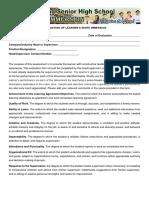 Evaluation Sheet Work Immersion (1)