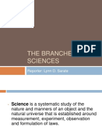 Science, Technology and Society Report