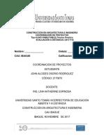 Evaluacion Distancia Proyectos