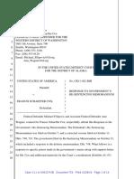 Response to Schaeffer Cox Re-Sentencing Memorandum