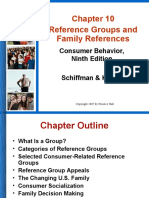Reference Group and Family Reference