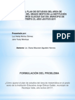 AJUSTES PLAN DE ÁREA MATEMÁTICAS