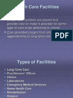 Organization of a Hospital
