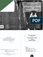 IMBERBLACK, E. Segredos Na Família e Na Terapia Familiar. CAP 1