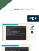 configurar usuarios y grupos linux