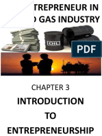 Chapter 3. Introduction to Entreneurship