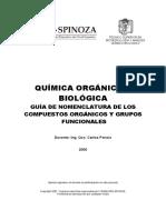 Quimica Organica nomenclatura
