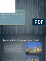Arquitectura Barroca en Perú