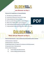 Agenda for Golden Ratio Trader (1)