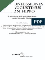 Die Confessiones des Augustinus von Hippo - Einführung und Interpretationen zu den dreizehn Büchern - Norbert Fischer & Cornelius Mayer