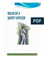 18. Msrs Roles of Safety Officers