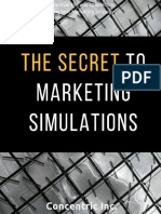 The Secret to Marketing Simulations by Concentric