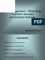 Pharmaco Genomics
