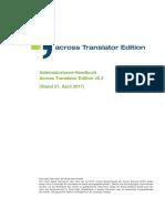 Acroos translation programm