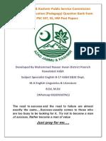Education MCQs from AJKPSC Past Papers.pdf · version 1.pdf