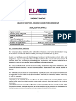 001 Head of Sector Finance and Procurement AD7