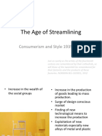 The Age of Streamlining