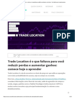 Trade Locaciton - Raiox Preditivo