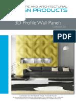 LAADP 3D Profile Panels 08 2011 B