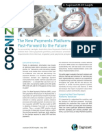 COGNIZANT the New Payments Platform Fast Forward to the Future Codex1299