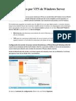 Acceso Remoto Por VPN de Windows Server 2012 R2