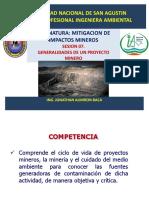Sesion 07 2019 Minm Generalidades Proyectos Mineros