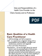 qualities of a healthcare provider.ppt