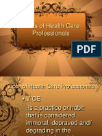 qualities of health care professionals