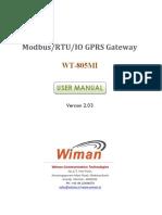 WCT805M Gateway Manual-V203