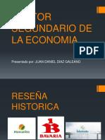 Sector Segundario de La Economia