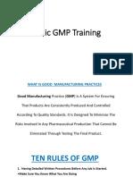 Basic GMP